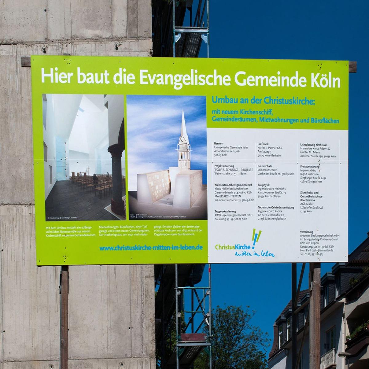 Bauschild Center Berlin Bauschilder Bauzaunwerbung